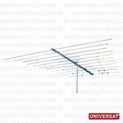 Antena Externa VHF 11 elementos Junior 291 - A - Thevear