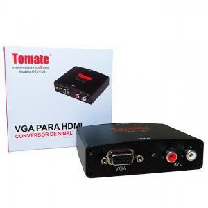 Conversor de Sinal VGA para HDMi Tomate MTV - 103
