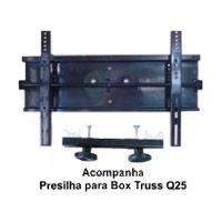 Suporte de Parede p / TVs Utilizadas no Box Truss Q25 - Weisserhase