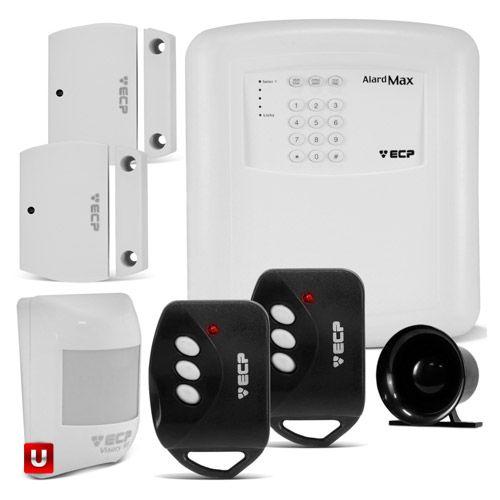 Kit Alarme Casa Residencial Comercial Alard Max 1 ISO 9001 - ECP