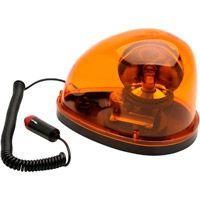 Sinalizador de Emergência Giroflex Oval Amarelo 12 Volts - Lee Tools