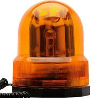 Sinalizador de Emergência Giroflex Amarelo 12 Volts - Lee Tools