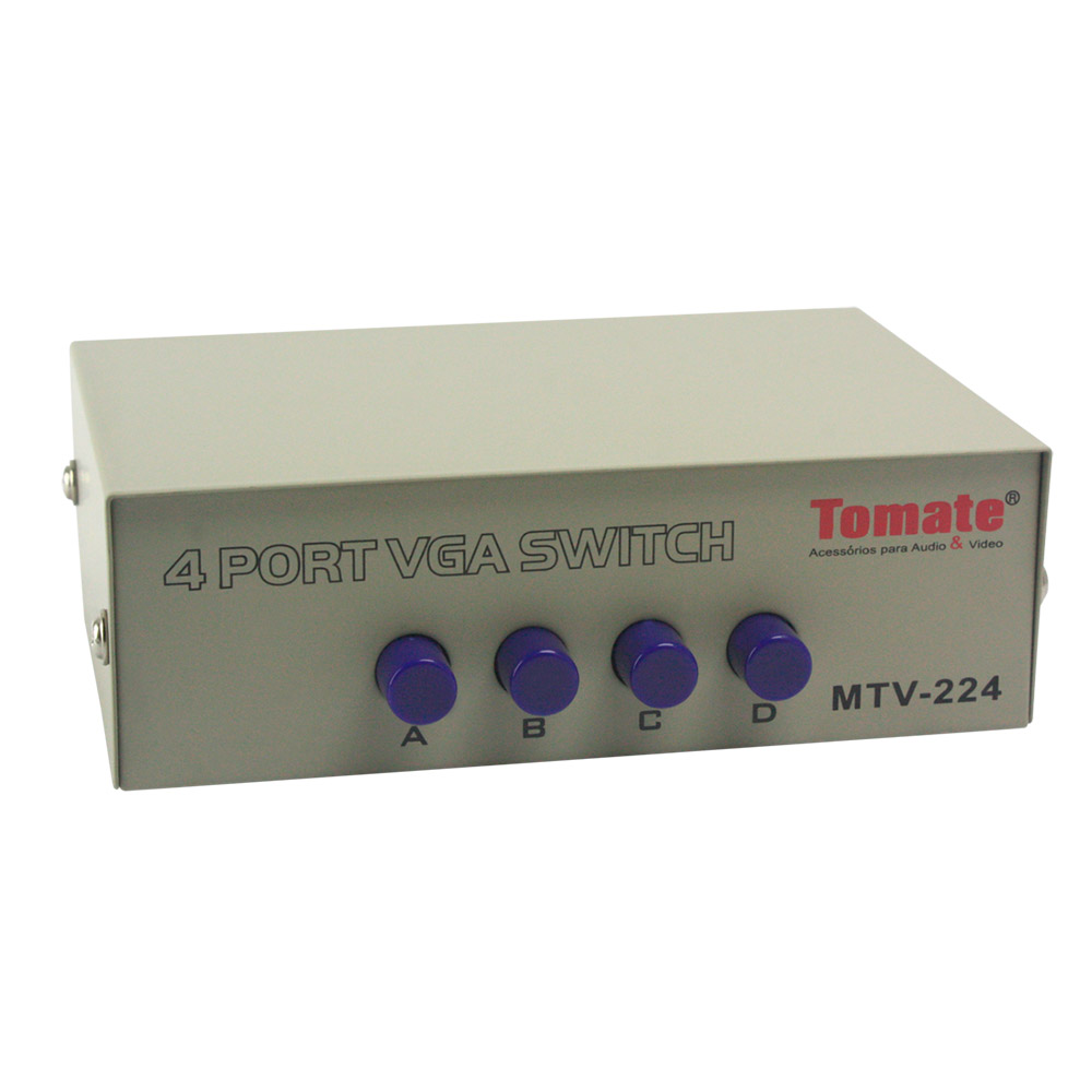 Zoom Chaveador Switch VGA 4X1 - MTV-224
